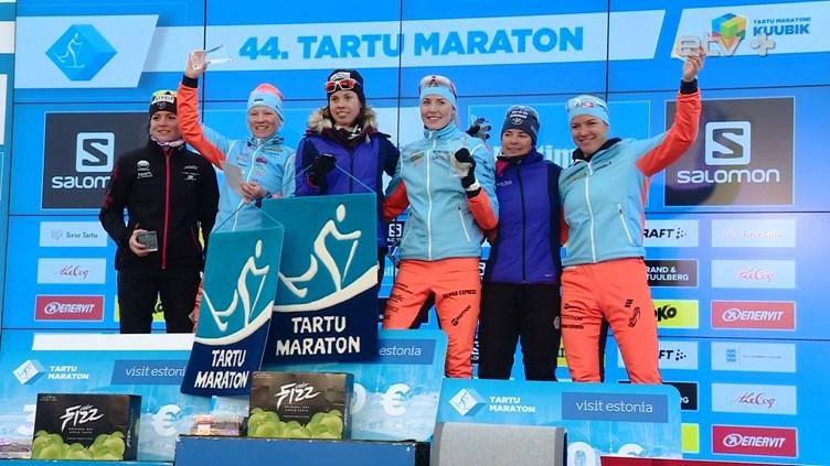 На Тартуском марафоне победу праздновали представители Франции