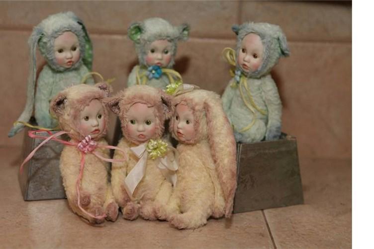 Куклы тедди своими руками мастер класс