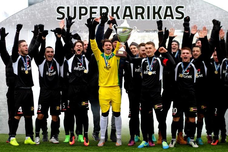 В матче за Суперкубок Эстонии