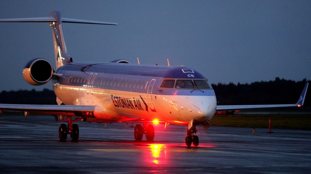 Üks viimaseid Estonian Airi lende.