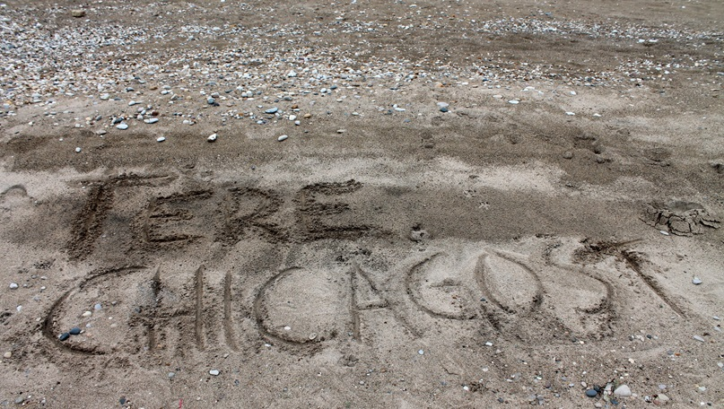 Greetings from the Chicago shores of Lake Michigan! May 2016. (Kreeta Käeri/Animation Generation)